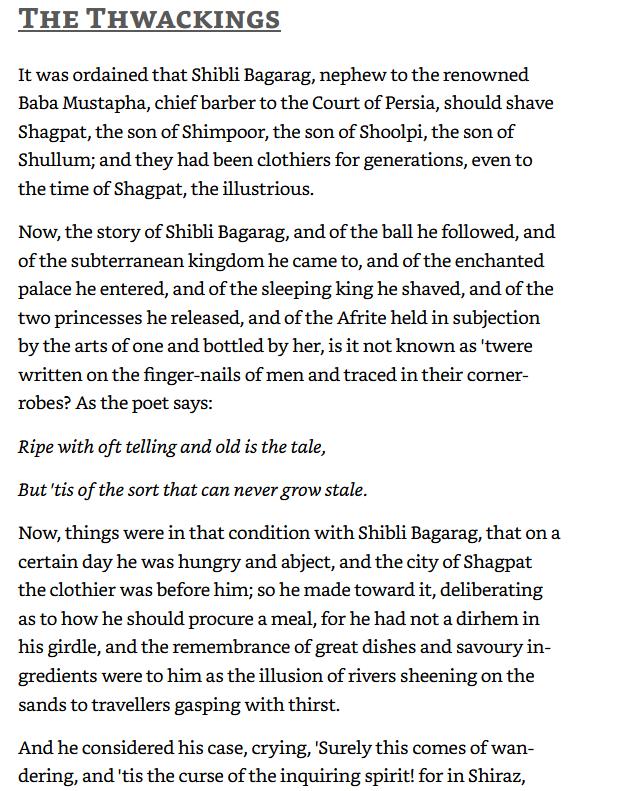Shagpat page