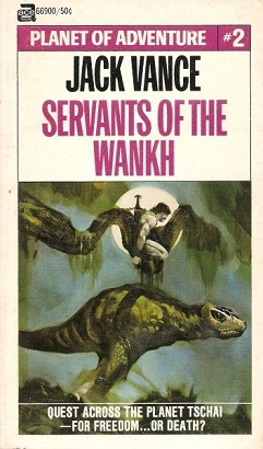 Servants of the Wankh cover