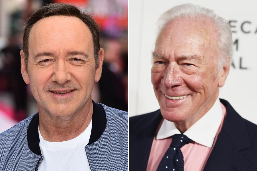 Kevin Spacey and Christopher Plummer