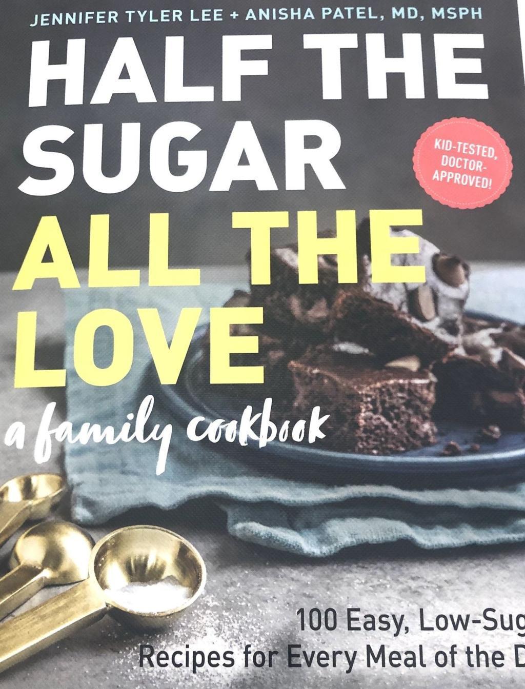 Half the sugar