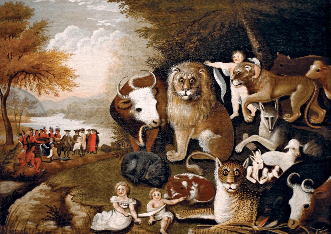 Hicks Edward, The Peaceable Kingdom
