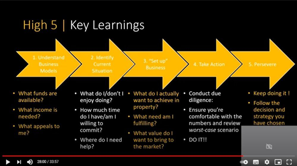 Learnings slide