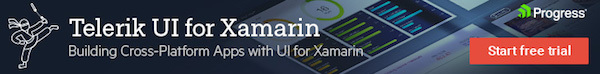 Telerik UI for Xamarin