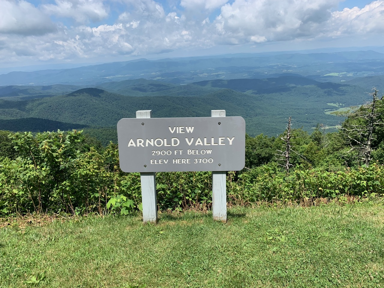 Blue Ridge Parkway - Arnold Valley