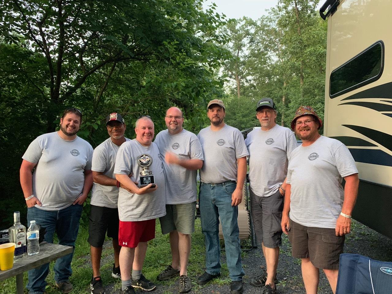 Gettysburg Meetup 2019 - crew