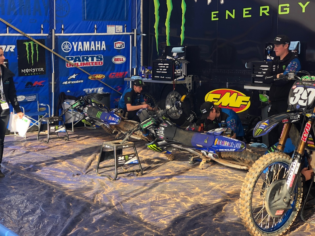 Supercross 2019 Atlanta - Yamaha 2