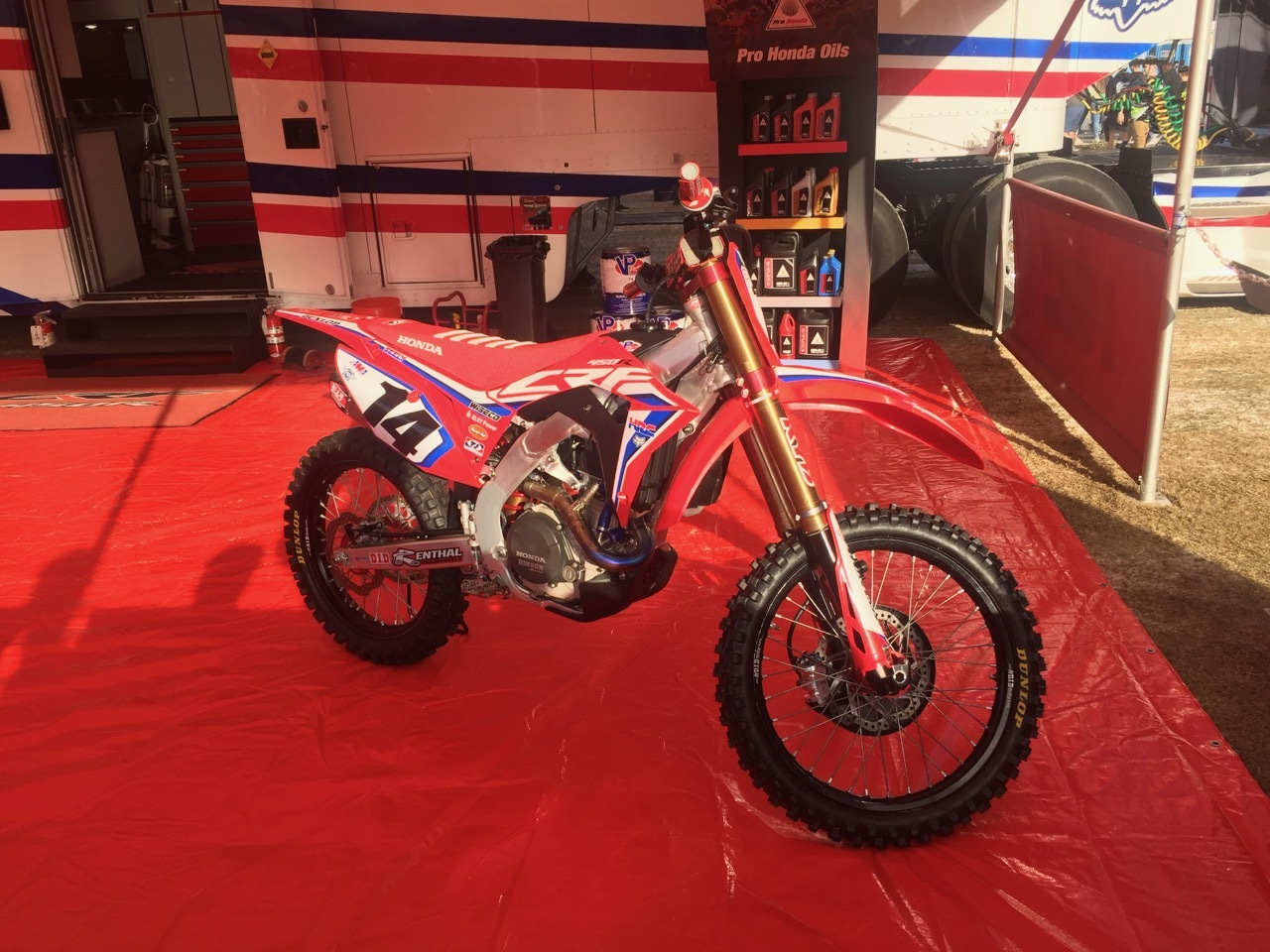 Supercross 2019 Atlanta - HRC Honda