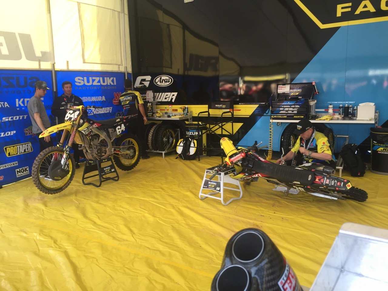 Supercross 2019 Atlanta - JGR Suzuki