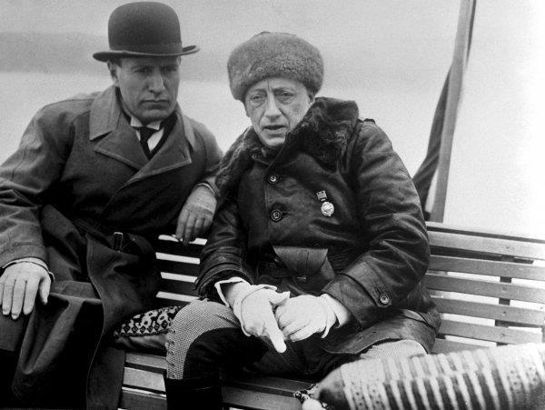Mussolini and D'Annunzio