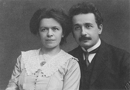 Albert and Mileva Einstein