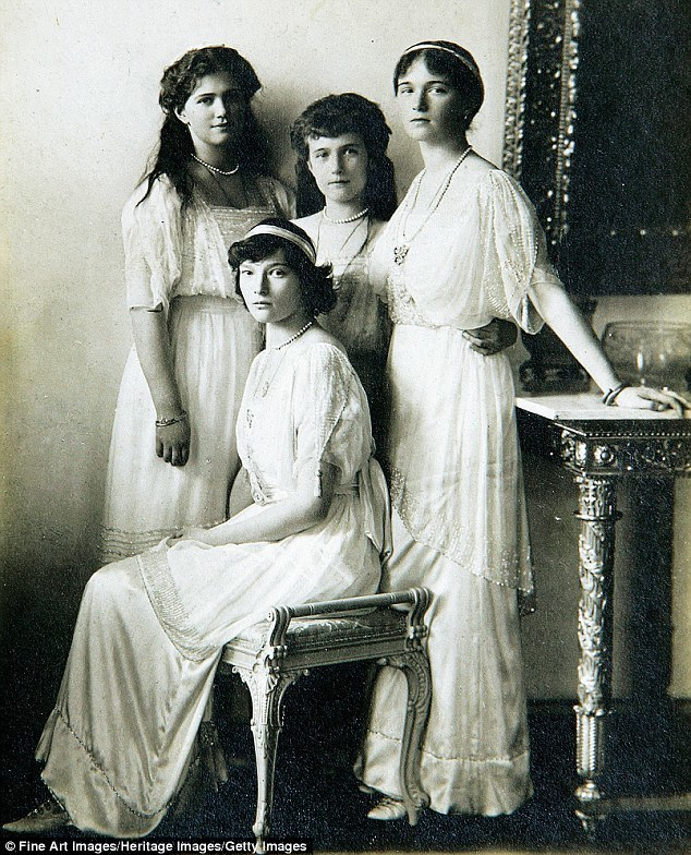 Romanov daughters