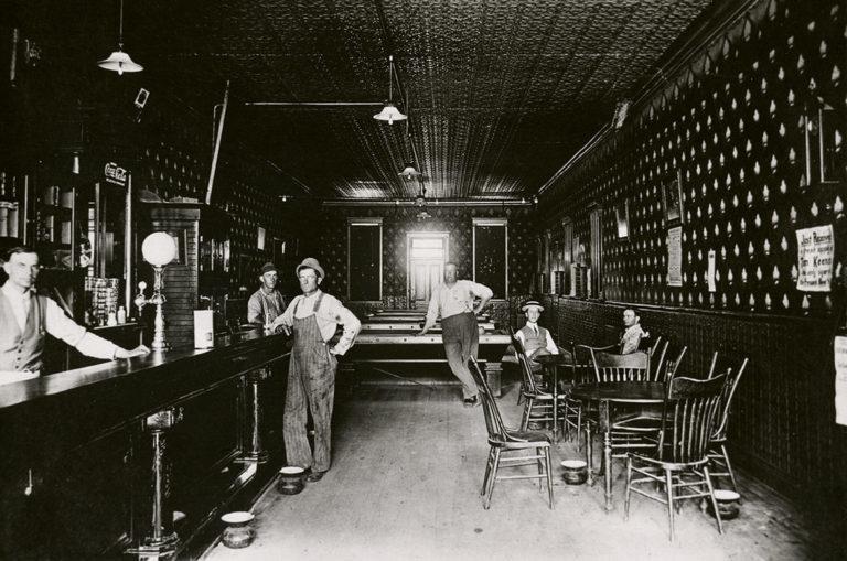 Saloon in Michigan