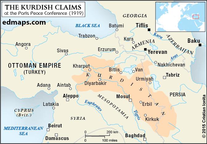 Kurdish Territory