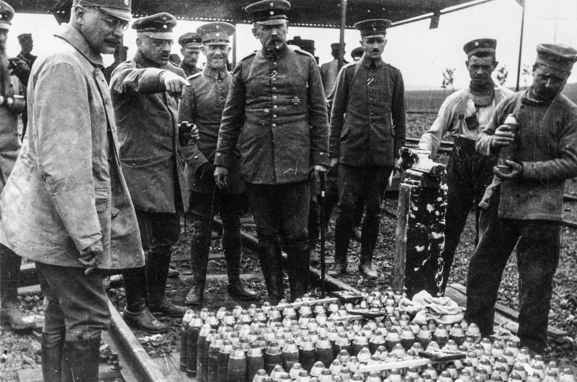 Haber at the Front in WWI