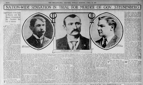Steunenberg trial headline