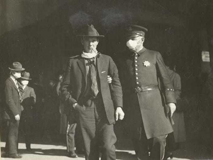 Arresting mask scofflaw