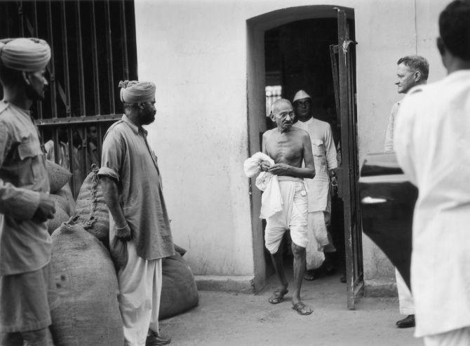 Gandhi in Prison