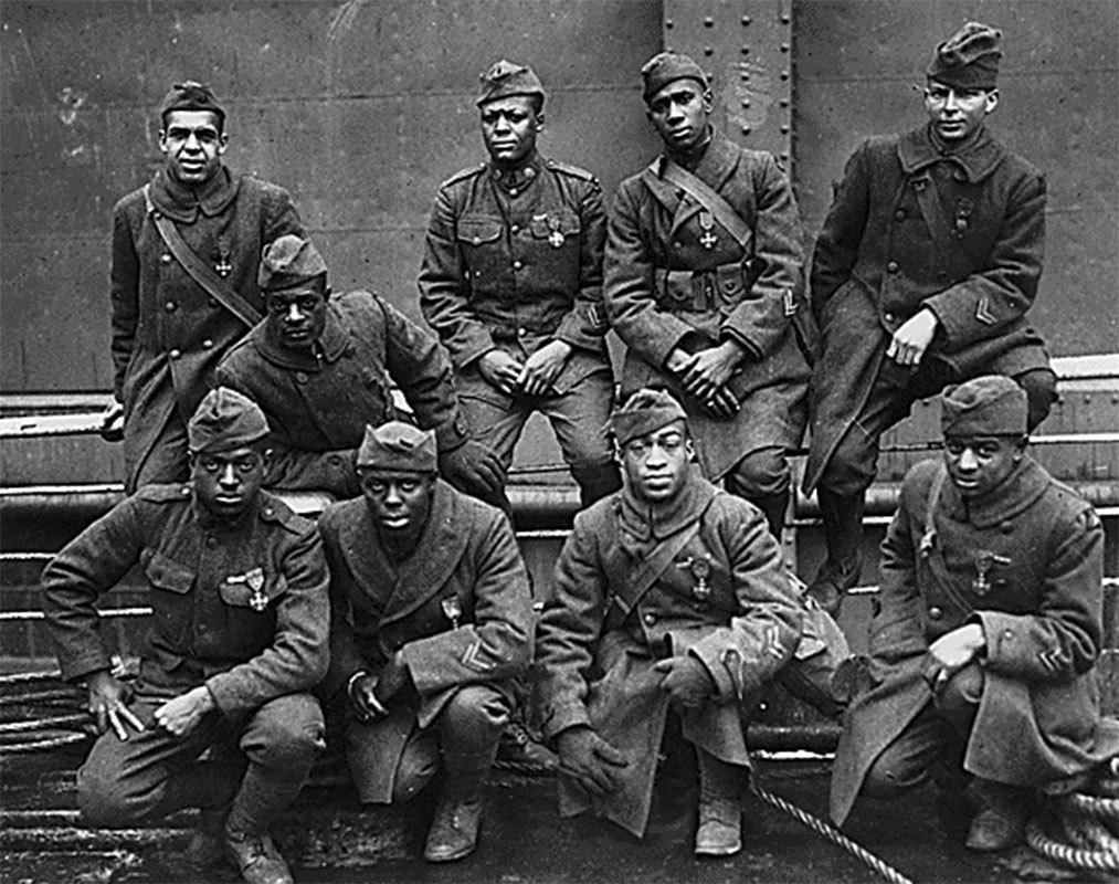 Men of the 369th Infantry Regiment