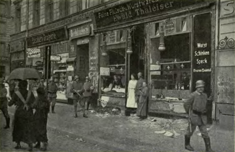 Aftermath of Food Riot in Berlin