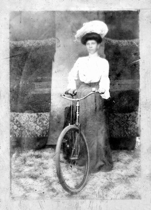 New Woman and Her Bicycle