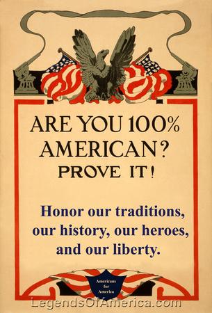 100 Percent American