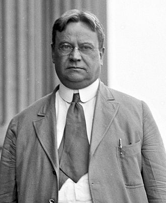 Senator Hiram Johnson