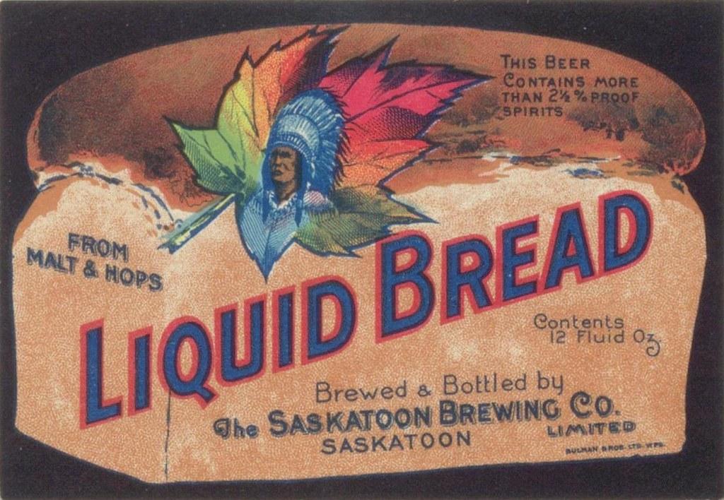 Liquid Bread ad
