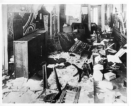 IWW Office after raid