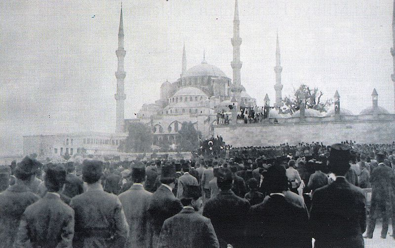 Protests in Istanbul, 1919