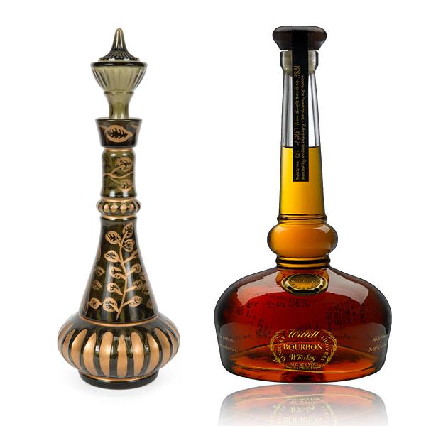 """""""I Dream of Jeannie""""-like Willett's Bourbon bottle"""
